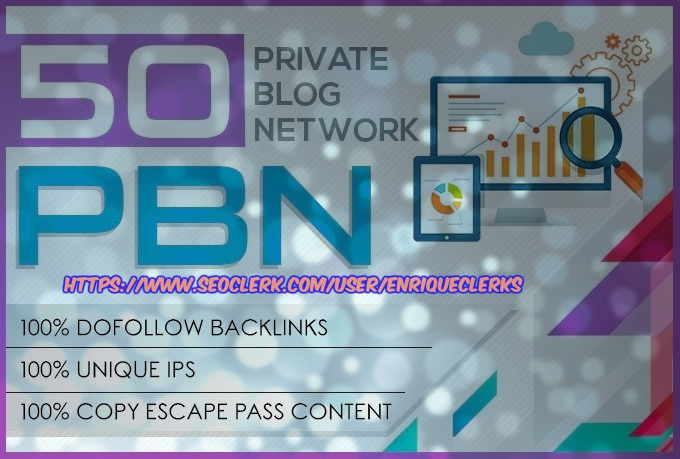 Create 50 High Metrics Pbn Posts Contextual Backlinks