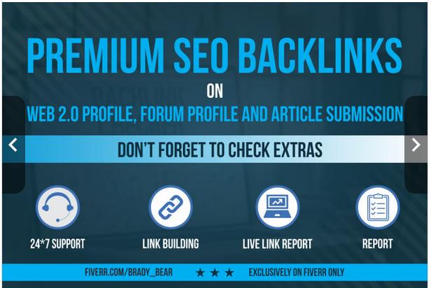create 900 high quality premium SEO backlinks
