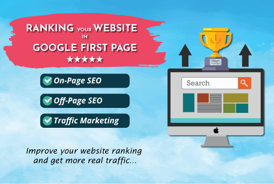 Rank Your website To Google 1st Page with verified SEO Link Building
