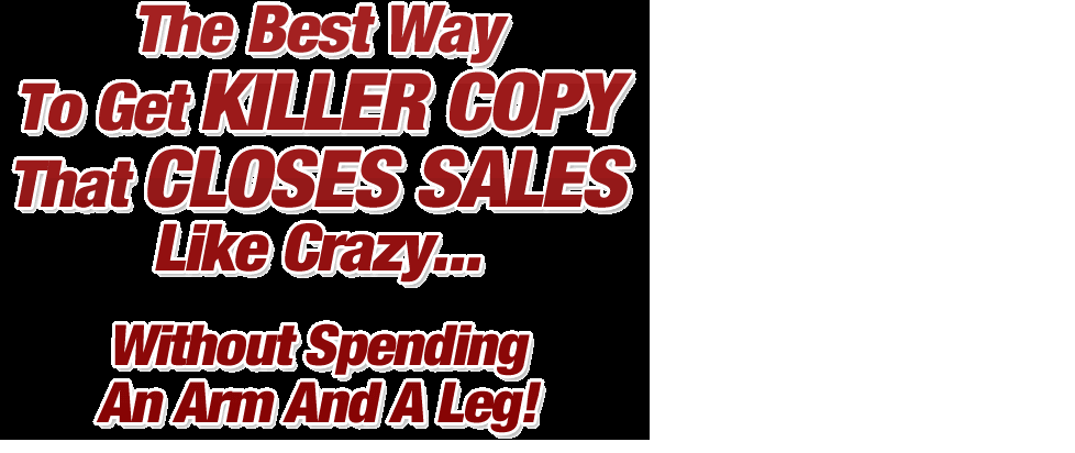 Write Catchy Sales Copy And Ad Copy For Your Landing Page