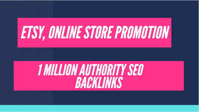 Build high quality gsa backlinks for etsy shop promotion,  online sales