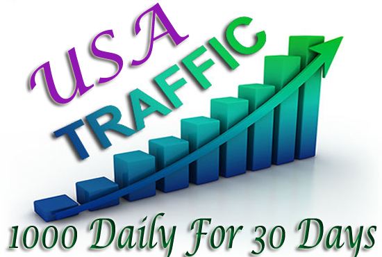 Daily 1000 USA TARGETED Website Traffic to your web o...