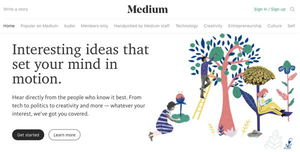 provide you guest post on medium.com