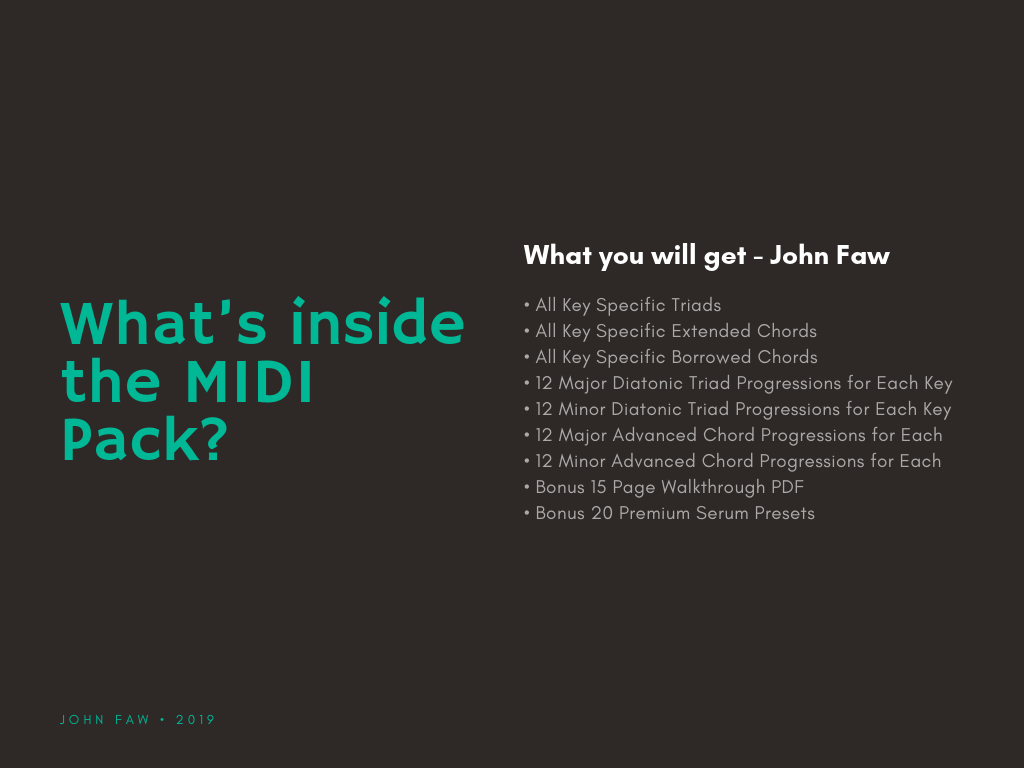 Get +35,000 MIDI Files Pack And Finish More Tracks Quickly - Music Production