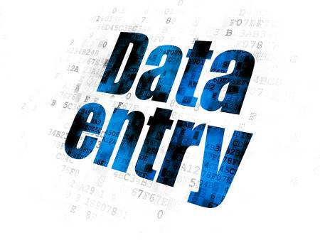 DATA Entry Operator/Computer typist available 60 wpm. with timely and accurately delivery of work