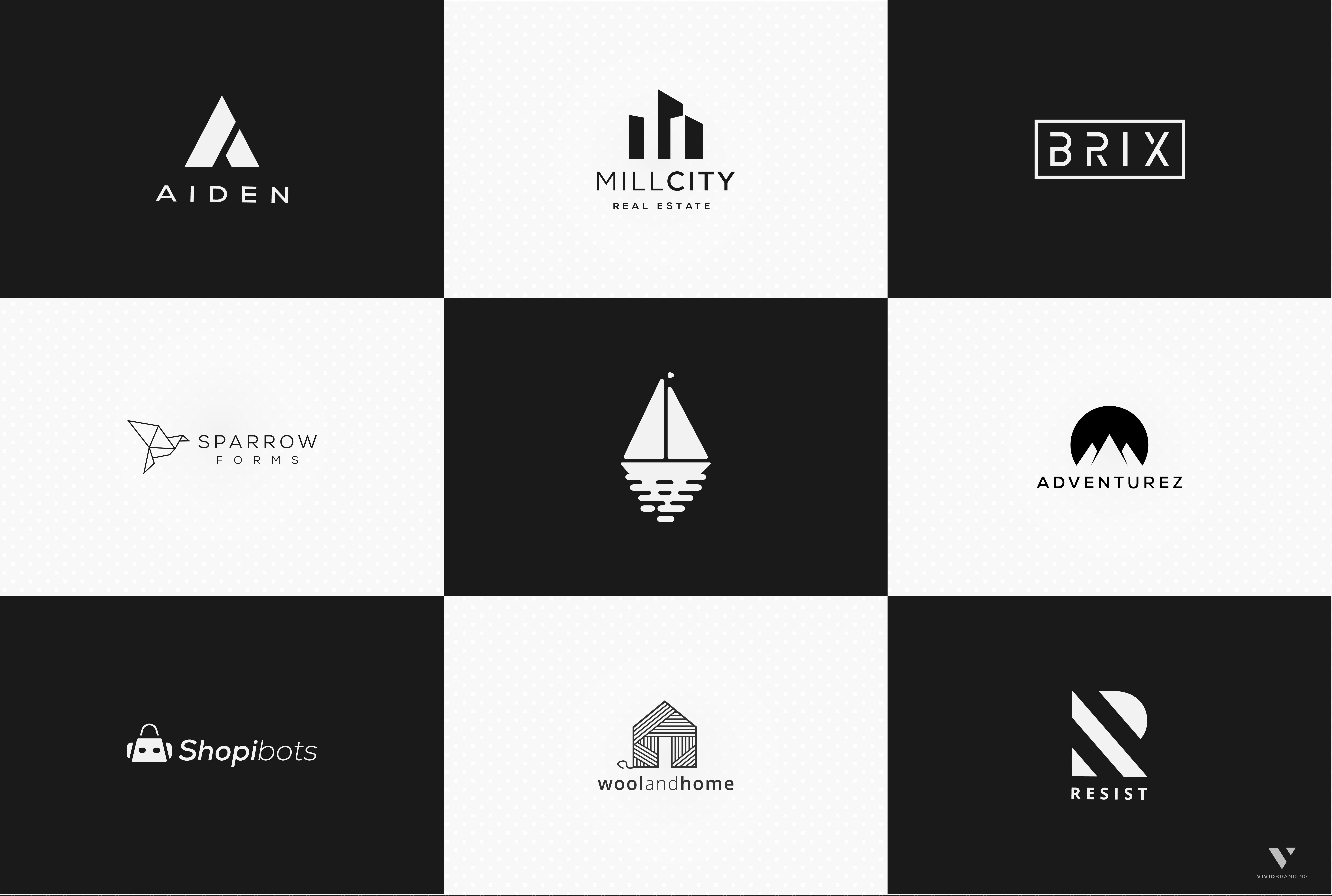 design Minimal Highend original logo within 2 days