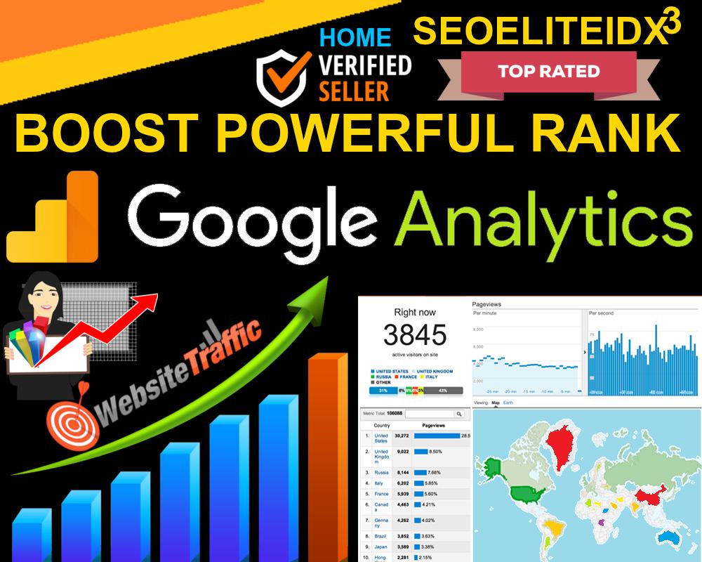 Skyrocket Boost 80,000 Worldwide Google Analytics Website Traffic Low Bounce Rate Ad-sense Safe