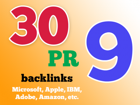 High Quality google friendly(30) backlinks DA-75+  And will add my premium Indexer