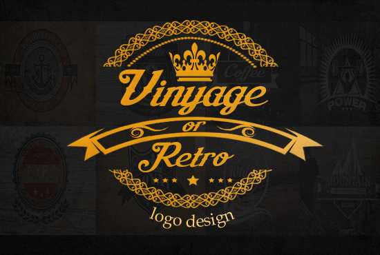 Design Vintage And Retro Logo