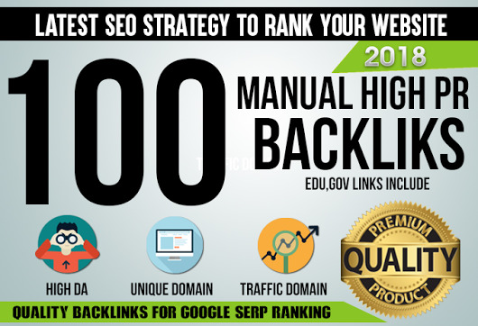 Build 100 Mixed PR9 SEO High Authority Backlinks DA 6...