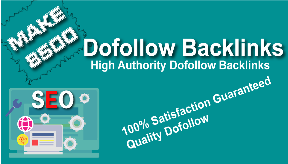 Make 8500 Dofollow Contextual Live Backlinks With Free Google Index