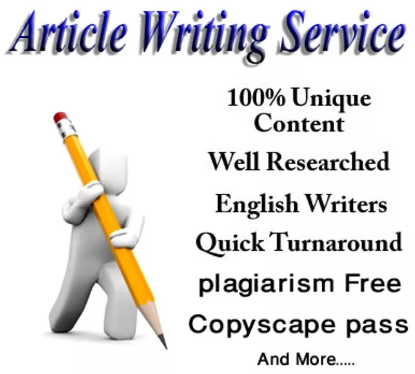 I can write for you unique Article 400-700 words