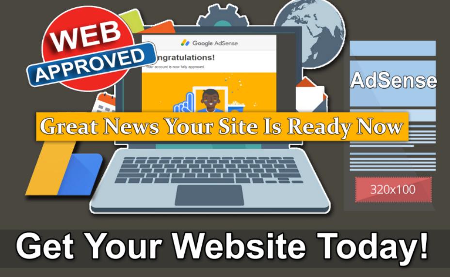 Design a Wordpress Website for Adsense Approval