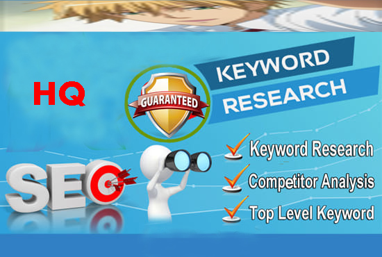 SEO Keyword Research On Your Website In 24 Hours
