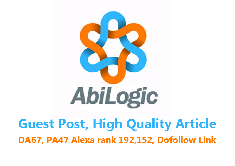 Publish a Guest Post on Abilogic. com with Your Websi...