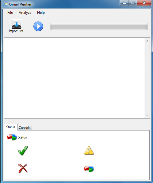 Gmail Verify + Test Version : The ultimate e-mail checker tool + Free Version