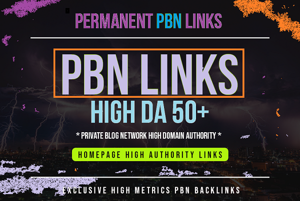 Provide you 20 PBN blog networks links From 50+ DA PA...