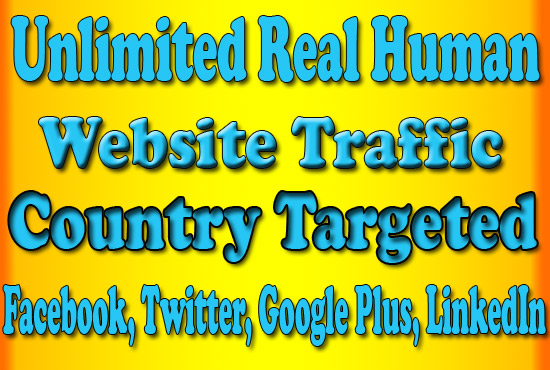 50,000 Drive Real Organic Targeted Web Traffic