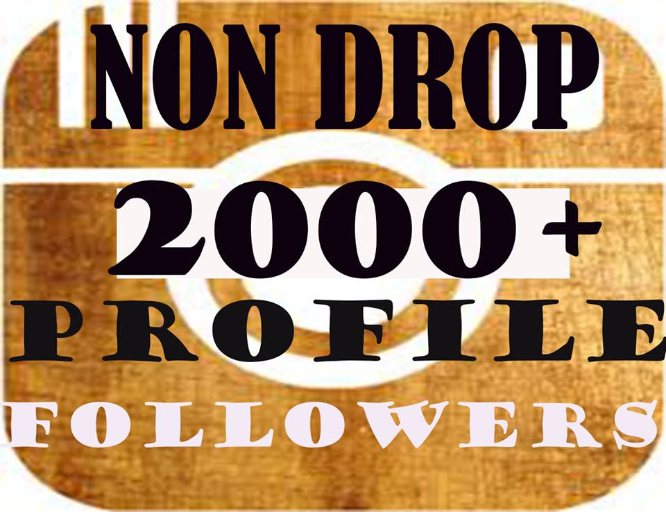 Get 2000+ Profile Followers In 1-2H
