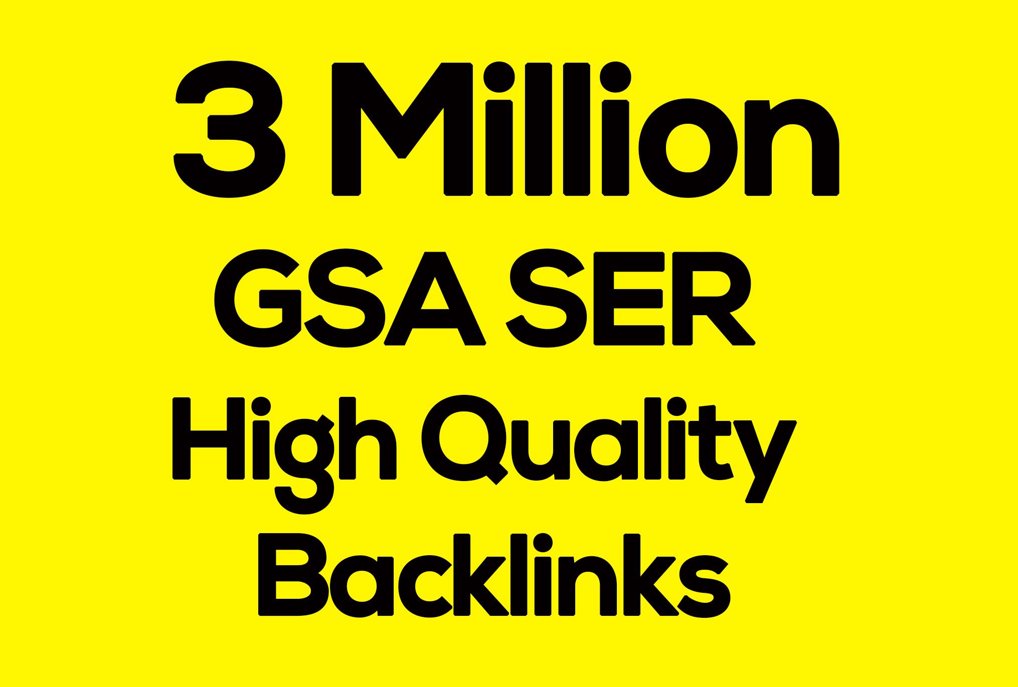 1st page 0n Google Blast 3 Million Seo Verified BACKLINKS Cracking Gsa Ser