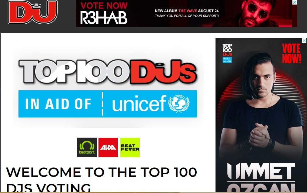 Promote You Unlimited Top Dj Contest Votes with Different IP, s