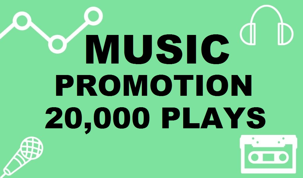 Twenty Thousand Real Music promotion