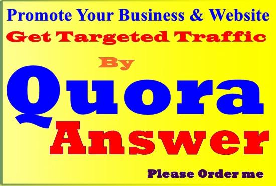 20 High Quality Worldwide Quora Answer