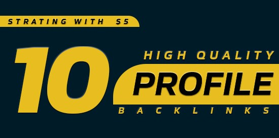 Create High PR 10 Profile Backlink Within Few Hours Delivery
