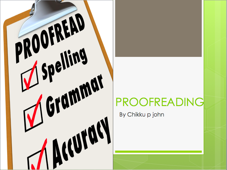 Proofread And Edit 2000 words within one day