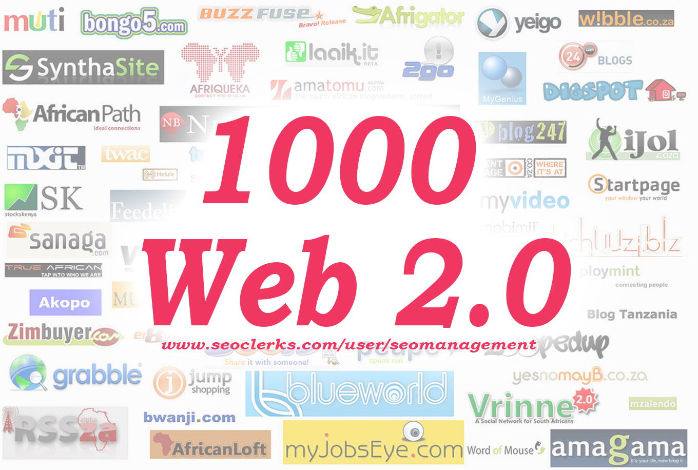 1000 Web 2.0 Backlink Creations and High Quality Orig...