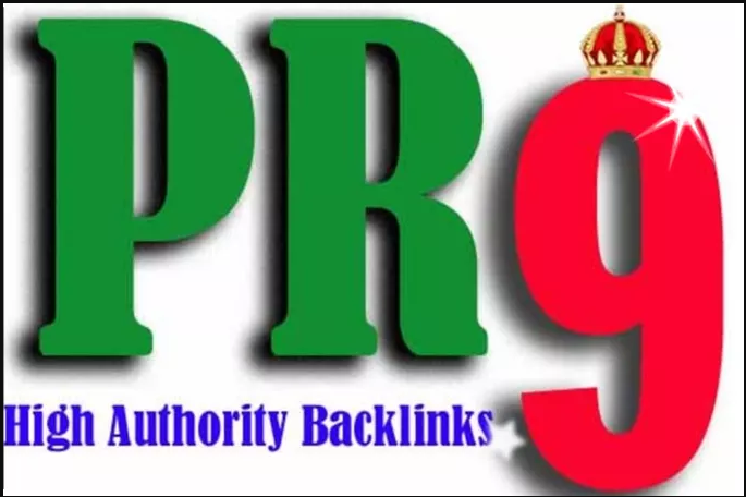 PR-9 High Authority 20 permanent Seo backlinks