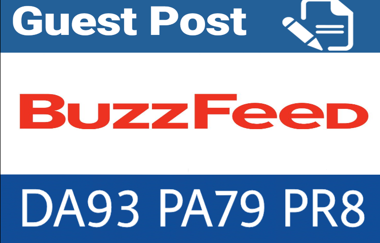 Write & publish guest post on Buzzfeed. com with ...