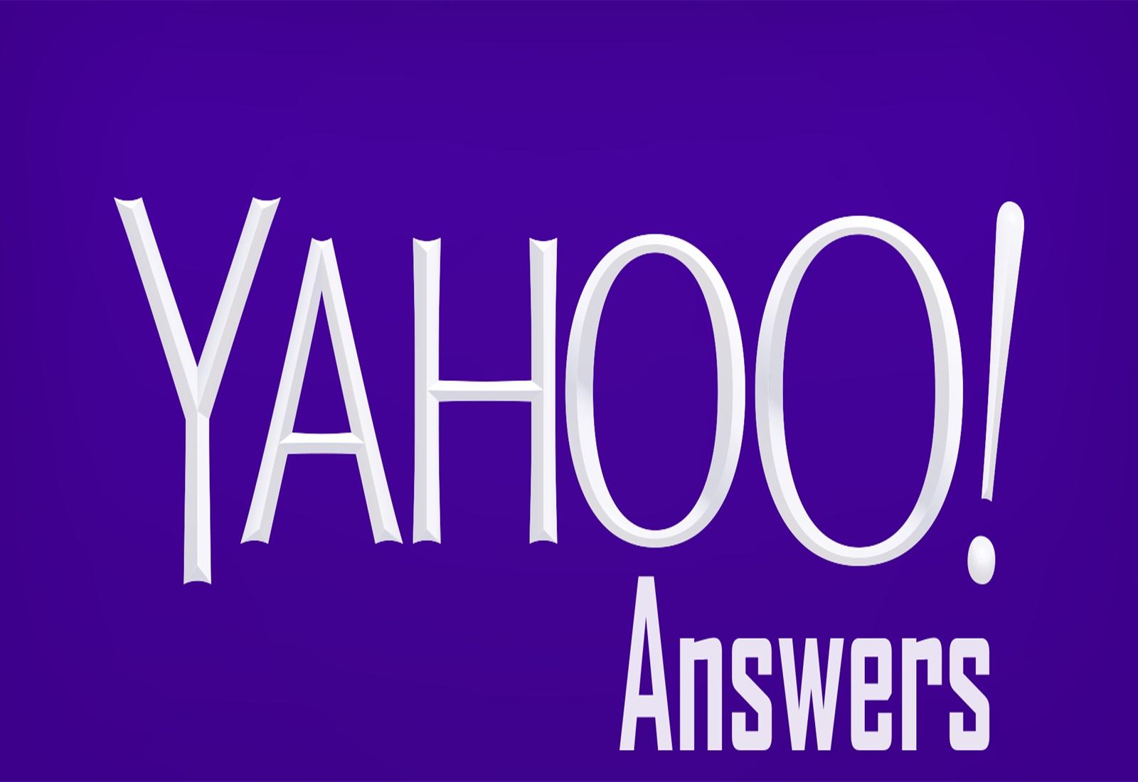 Provide 1 Yahoo Answers level 3 account