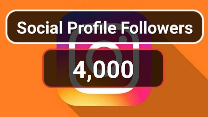 Get 4000+ Social media followers with Guarantee via r...