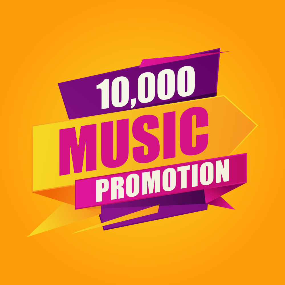 Ten Thousand Organic Music Promotion For Your Song Marketing