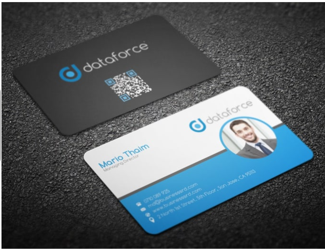 Do business card design professional business card