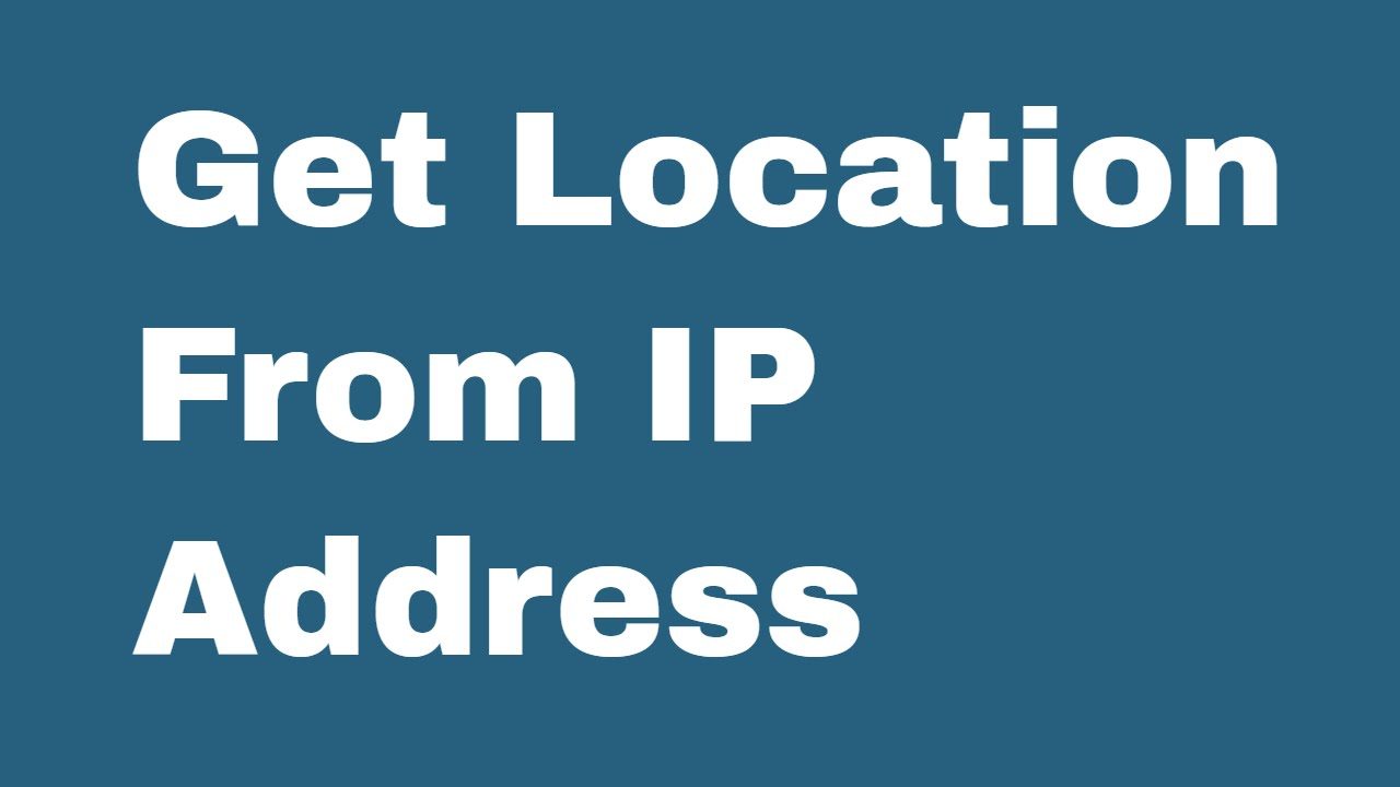 C Sharp Class to find visitors country and location from IP address
