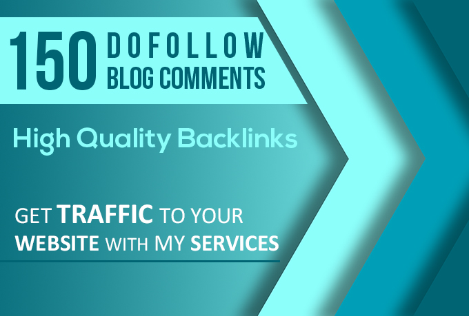 do 150 dofollow blog comments on high DA PA