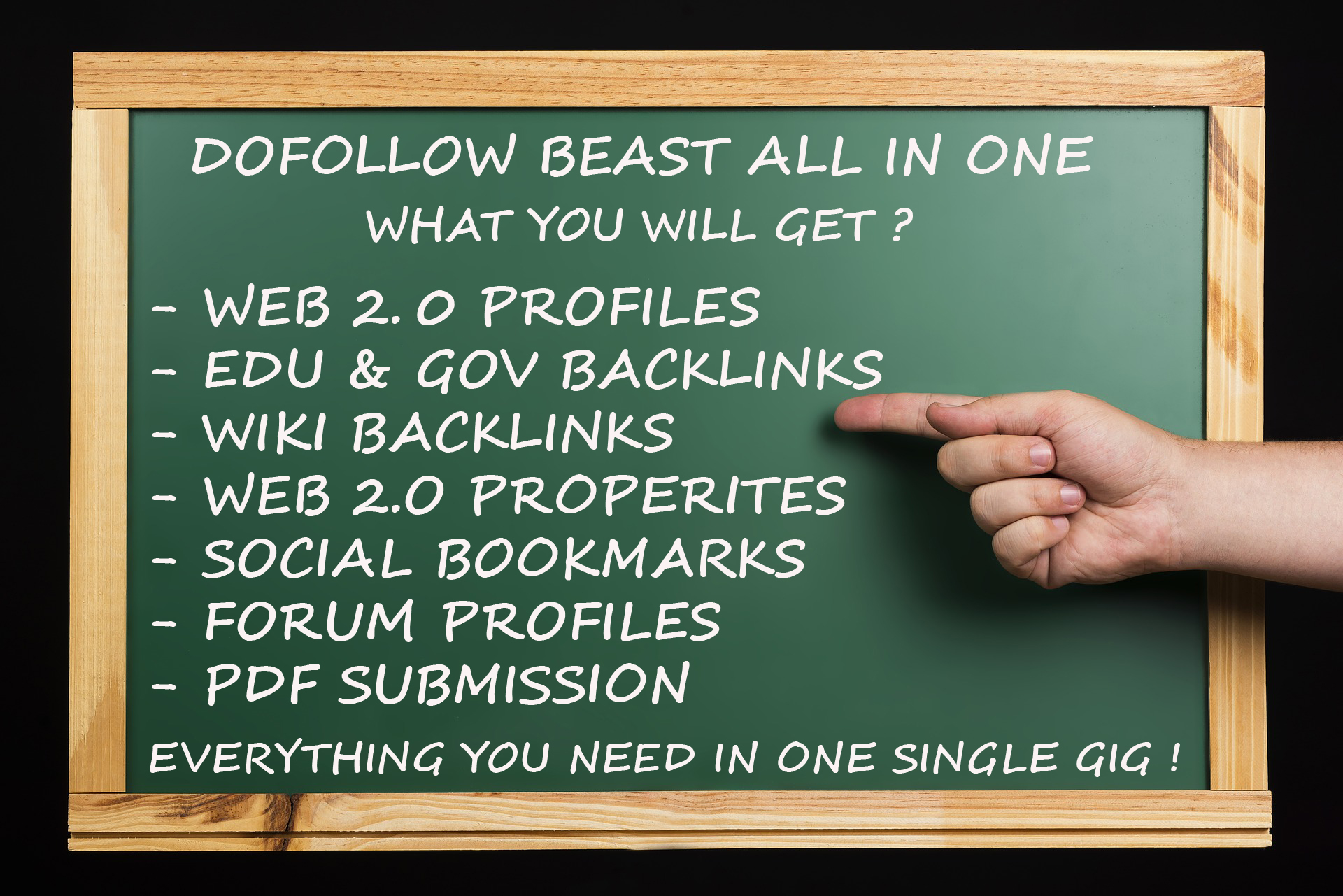 DOFOLLOW BEAST - ALL IN ONE ULTIMATE HIGH QUALITY SEO...
