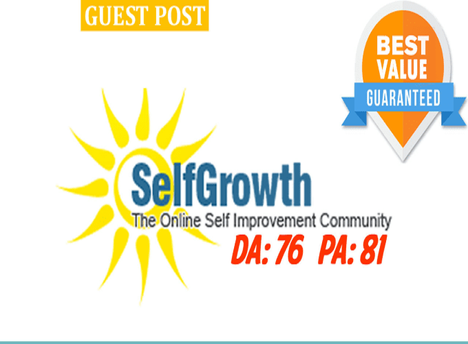 Write and publish 500 words perfect SEO optimized articles on SelfGrowth