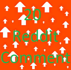Manually get 20 reddit promotion