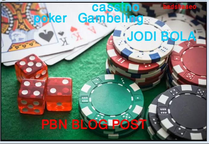 50 CASINO, GAMBLING, POKER related high quality pbn ...