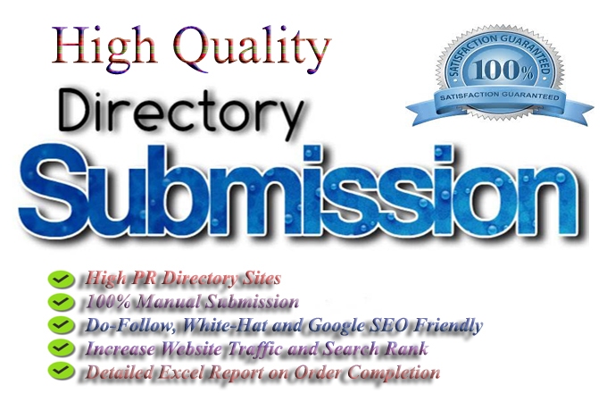 60 directory submission with in 7 days