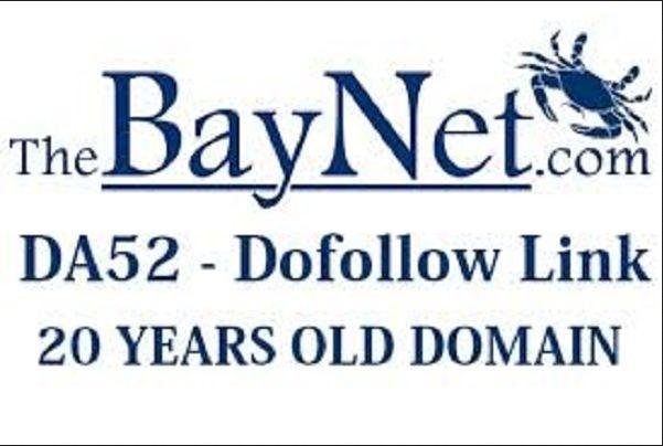 Publish A Guest Post on Thebaynet DA52