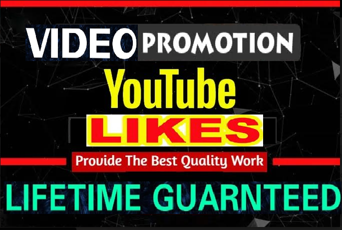 NON DROP Video Likes Promotion Marketing Social Media Exlusive service