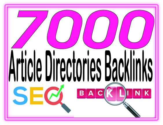 Do 7000 Unique Article directories backlinks To Rank your Google