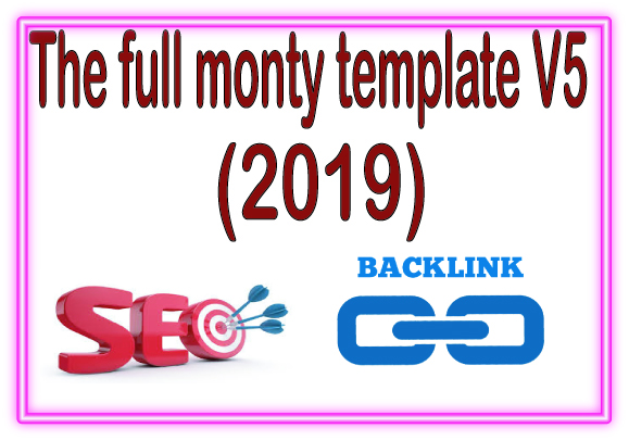 SEO campaigns-Get The full monty template V5 -2019