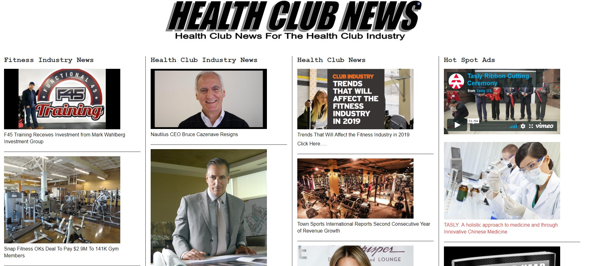 Advertise your Affiliate Marketing product on Health Club News