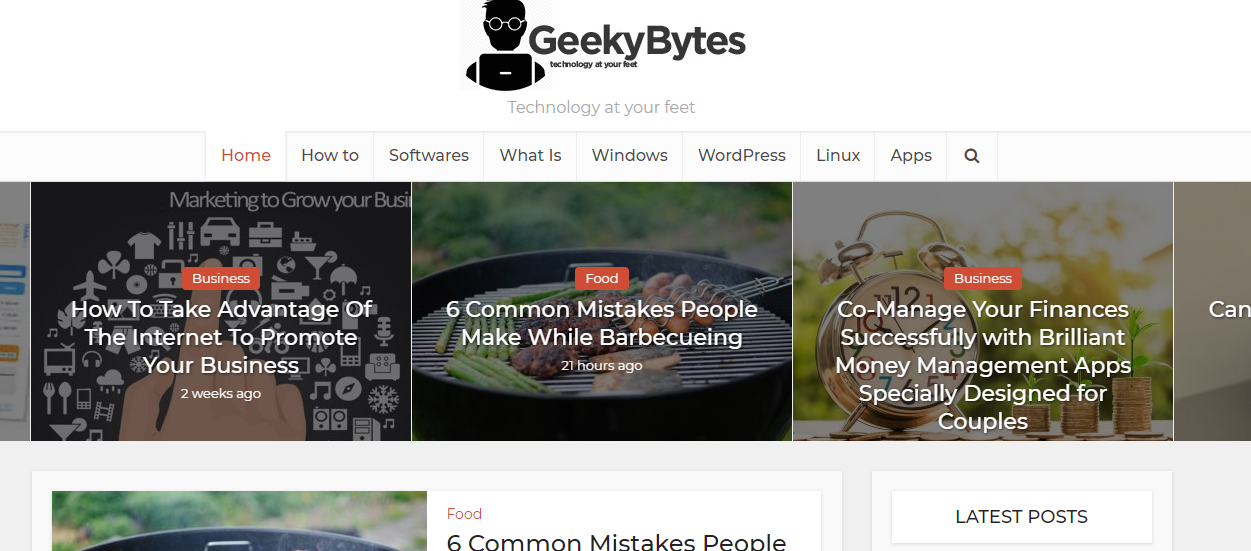 Guest post On Software,  Apps Niche Site Geekybytes. net