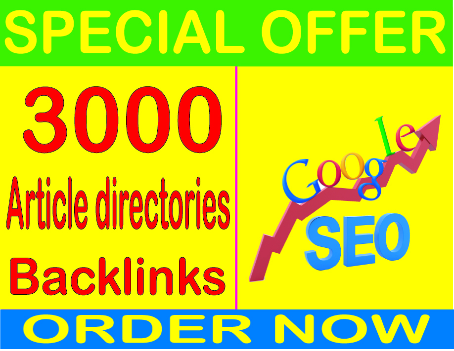 Best SEO Service-2019- I will do 3000 Article directo...